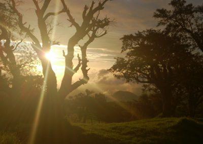 Couché du soleil-Nez de Boeuf